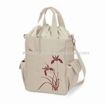 Picnic lunch cooler tote bags Lunch Cooler Tote Bag with Shoulder Strap and Zipper Closures