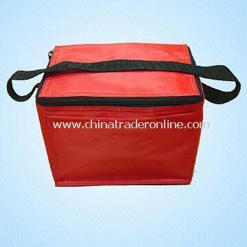 Promotional 420D/PVC Cooler Bag for Six Cans
