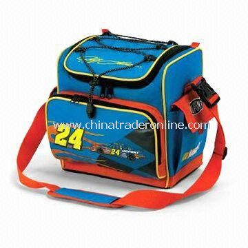 12 Can Insulated Cooler Bags with Adjustable Shoulder Strap and Zipper Closures