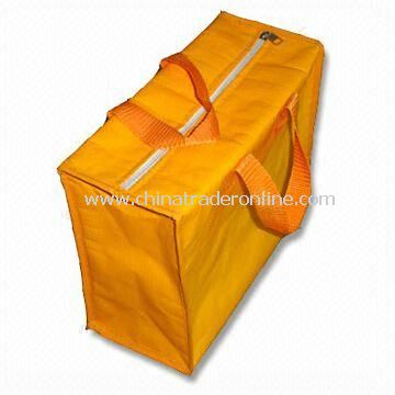 Cooler Bag with Aluminum Film Inner and Nylon Handle