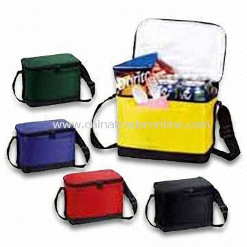 Ice Bags, Made of 600D PVC and 210D Nylon Lining, Available in Different Colors and Shapes