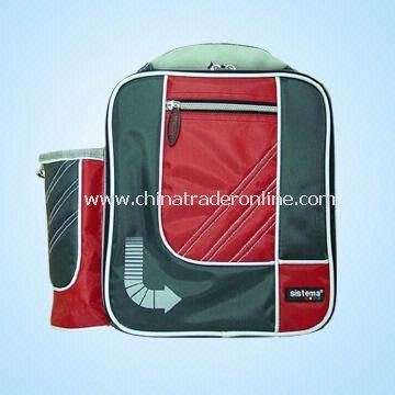 Lunch Bag with Bottle Holder