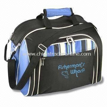 Picnic cooler bags Four-person Picnic Bags with Padded Shoulder Strap and Dual Web Handles
