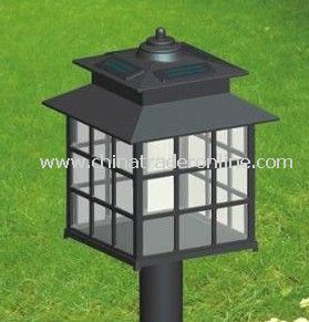 Plastic Solar Lawn Lamp from China
