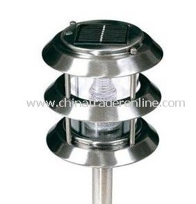 Stainless Steel Solar Lawn Lamp