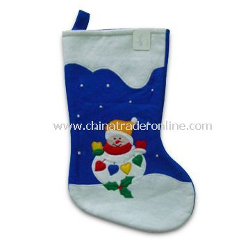 Christmas and Halloween Stockings, Various Designs Offered