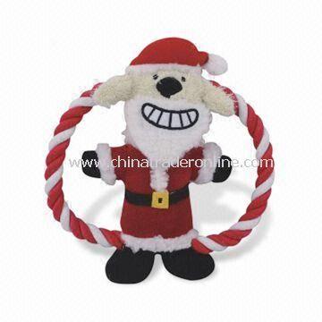 Christmas-themed Frisbee Dog Toy, Measures Ø18cm