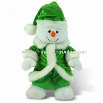 Christmas Toy, 100% Original Design with Good Craft, Made of Plush Fabric