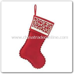 Cutwork Stocking from China