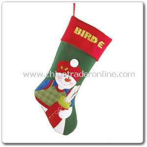 Golf Snowman Stocking from China