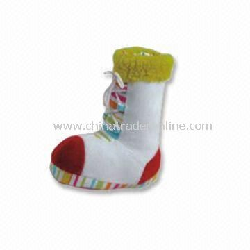Pet Squeaky Dog Shoe, Measuring 16 x 18cm from China