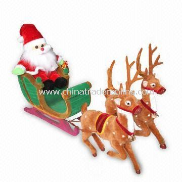 Santa Clause Toy, Suitable for Christmas Decoration