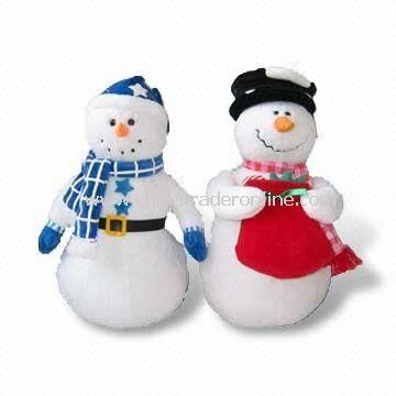 Snowman Stuffed Toy for Christmas Day
