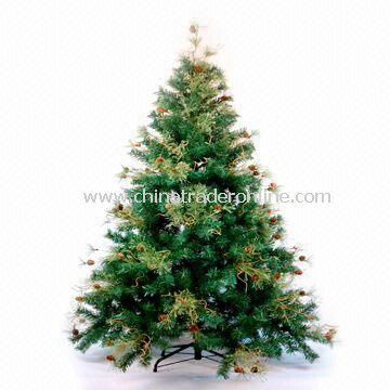 7-inch Christmas Tree with Mixed Country Rustic, Pine Cone and Berry Tree