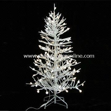 christmas tree with snowflakes and 5ft size from china