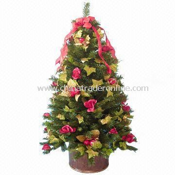 Decorated Artificial Colorado Christmas Tree with Lights
