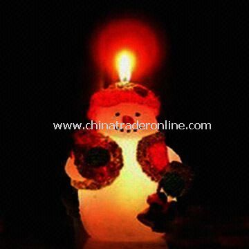 Candle, Suitable for Xmas Decorative Light and Christmas Gift