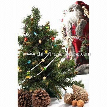 Christmas Lights with Low Voltage and Replaceable Bulbs