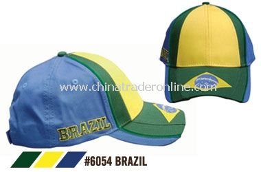 BRAZIL SOCCER CAPS