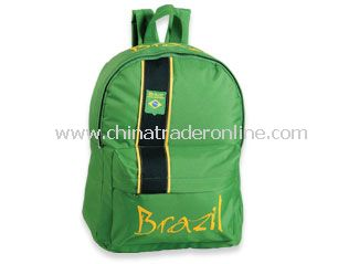 Brazil Soccer Supporter backpack