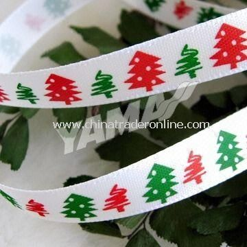 Christmas Ribbon, Perfect for Christmas Decoration, Meeting Oeko-Tex Standard 100, REACH SVHC Free