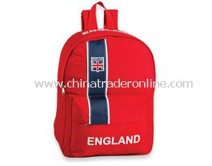 England Soccer Supporter backpack