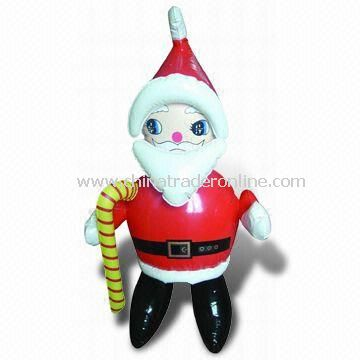 Inflatable Santa Claus, Measuring 23.6 Inches, OEM Orders are Welcome