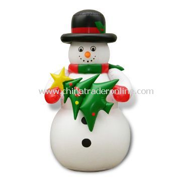 Inflatable Snowman, Customized Shapes and Logos are Welcome