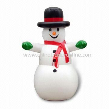 Inflatable Snowman with Pantone Color, Measuring 48 Inches