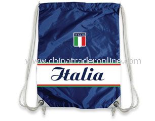 Italian Football Supporters drawstring bag