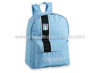 Soccer Backpack or Football bag Argentina Supporter Backpack