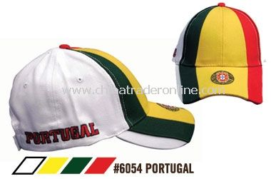 SOCCER CAPS FOR SUPPORTERS OF THE TEAM FROM PORTUGAL