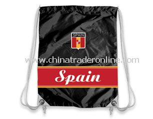 Spain Football Supporter drawstring bag from China