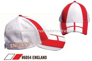 THE ENGLAND FOOTBALL SUPPORTERS CAP