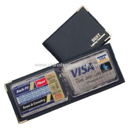 Card size for wallet