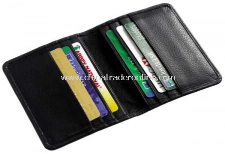 Melbourne Leather Credit Card Holder