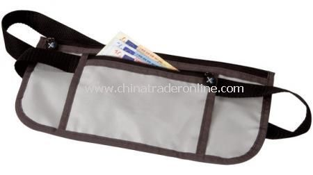 MONEY BELT With 2 zip pockets