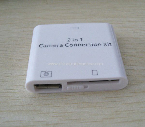 2-in-1 iPad Camera Connection Kit