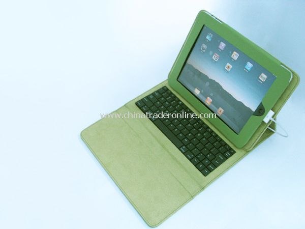 Apple ipad case leather keyboard