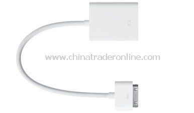 Apple iPad Dock Connector to VGA Adapter from China