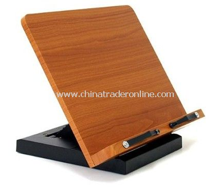 Dual Adjustable Multimedia Multi-Purpose Wood Stand for iPad