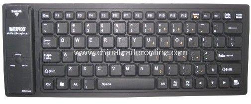 Flexible Bluetooth Waterproof Mini Keyboard For iPad