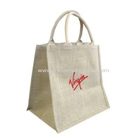 Jute Shopper Bag for Life