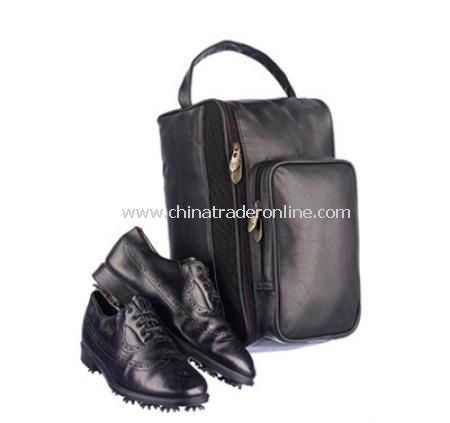 Balmoral Large Shoe Bag - Black