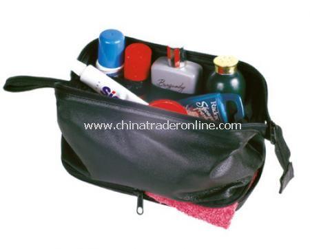 Balmoral Large Wash Bag - Black from China