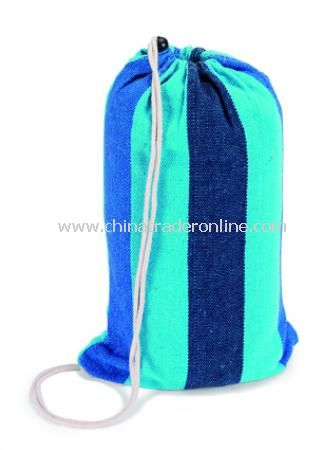 Beach duffle bag with hammock