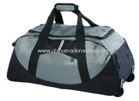 Ottawa 1200D Black Nylon Trolley Bag