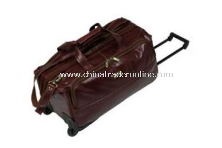 Leather Wheel Bag