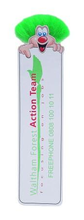 Adman Character Bookmark from China