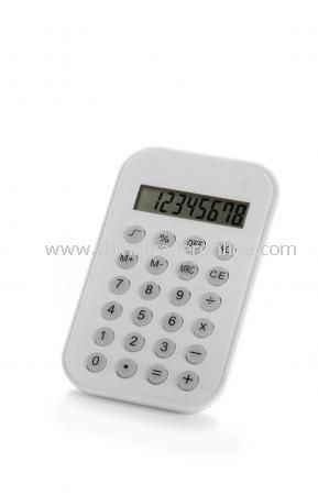 Calculator, 8 digits, incl batt